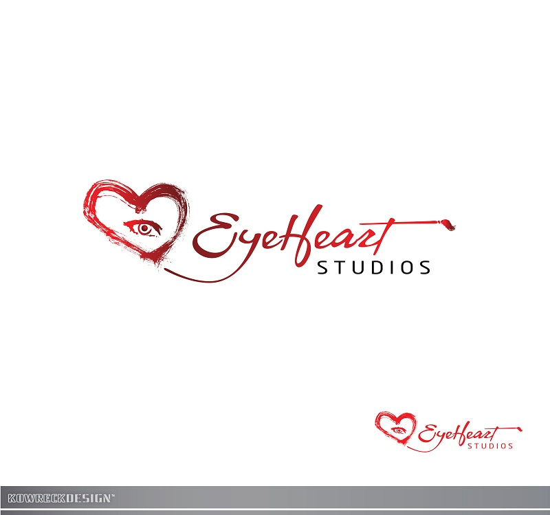 Logo Design by kowreck - Entry No. 108 in the Logo Design Contest Unique Logo Design Wanted for Eye Heart Studios.