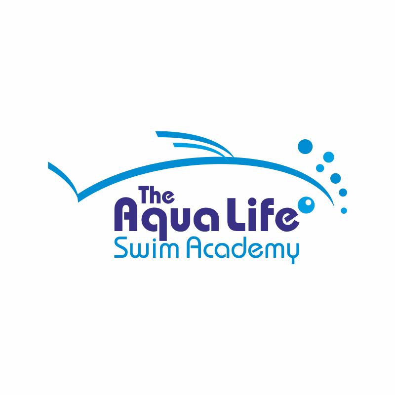 Logo Design by montoshlall - Entry No. 30 in the Logo Design Contest Artistic Logo Design Wanted for The Aqua Life Swim Academy.