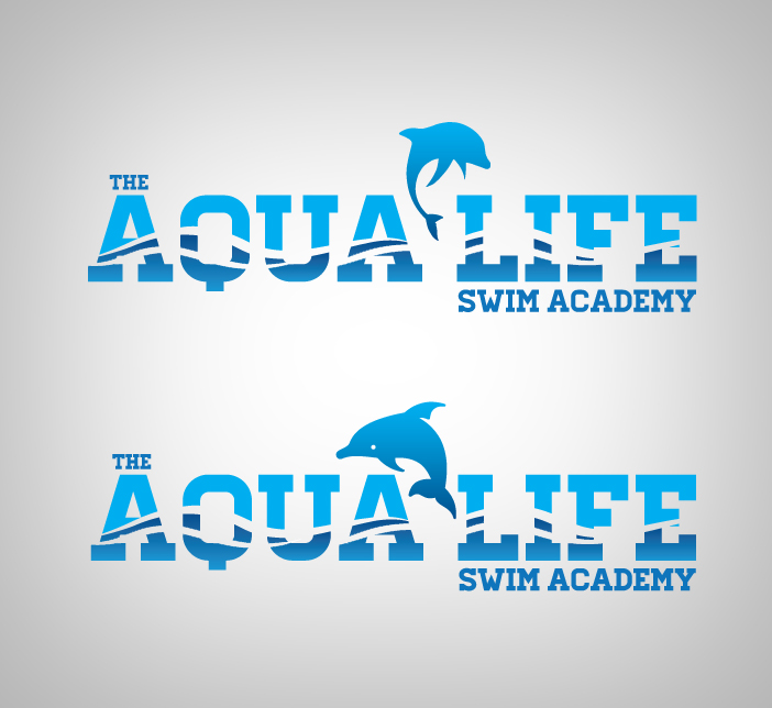 Logo Design by nausigeo - Entry No. 32 in the Logo Design Contest Artistic Logo Design Wanted for The Aqua Life Swim Academy.