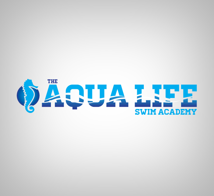 Logo Design by nausigeo - Entry No. 33 in the Logo Design Contest Artistic Logo Design Wanted for The Aqua Life Swim Academy.