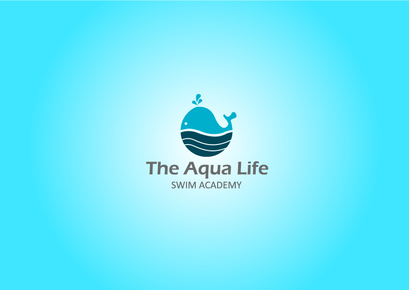 Logo Design by Osi Indra - Entry No. 34 in the Logo Design Contest Artistic Logo Design Wanted for The Aqua Life Swim Academy.