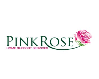 Logo Design by ysonmez - Entry No. 77 in the Logo Design Contest Pink Rose Home Support Services.
