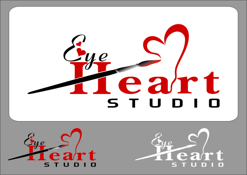 Logo Design by RasYa Muhammad Athaya - Entry No. 121 in the Logo Design Contest Unique Logo Design Wanted for Eye Heart Studios.