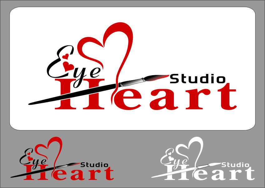 Logo Design by Ngepet_art - Entry No. 122 in the Logo Design Contest Unique Logo Design Wanted for Eye Heart Studios.