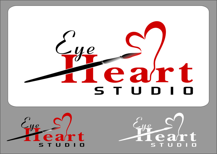 Logo Design by Ngepet_art - Entry No. 123 in the Logo Design Contest Unique Logo Design Wanted for Eye Heart Studios.