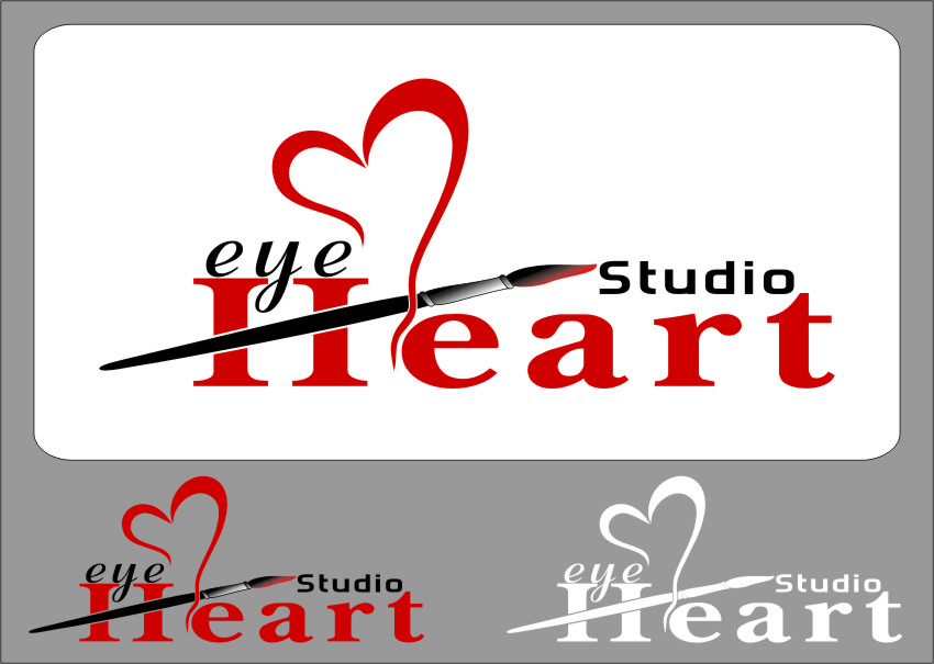 Logo Design by Ngepet_art - Entry No. 124 in the Logo Design Contest Unique Logo Design Wanted for Eye Heart Studios.