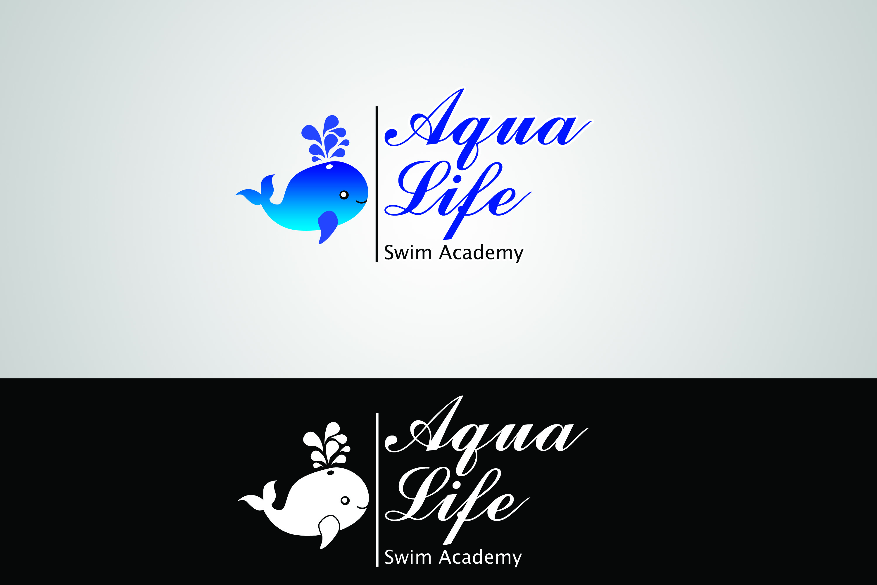 Logo Design by Private User - Entry No. 41 in the Logo Design Contest Artistic Logo Design Wanted for The Aqua Life Swim Academy.