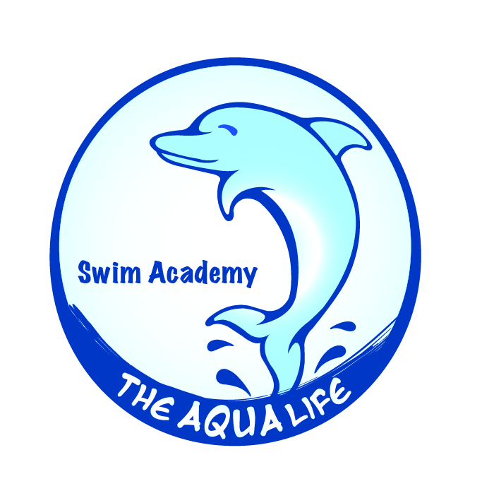 Logo Design by Bola Habib - Entry No. 44 in the Logo Design Contest Artistic Logo Design Wanted for The Aqua Life Swim Academy.