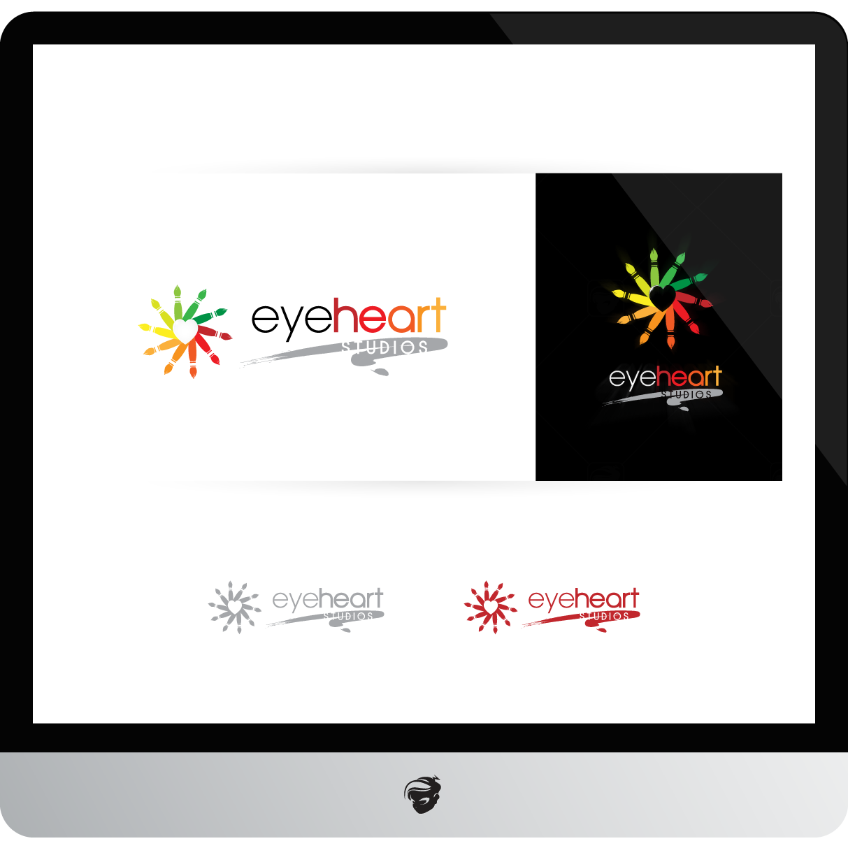 Logo Design by zesthar - Entry No. 125 in the Logo Design Contest Unique Logo Design Wanted for Eye Heart Studios.