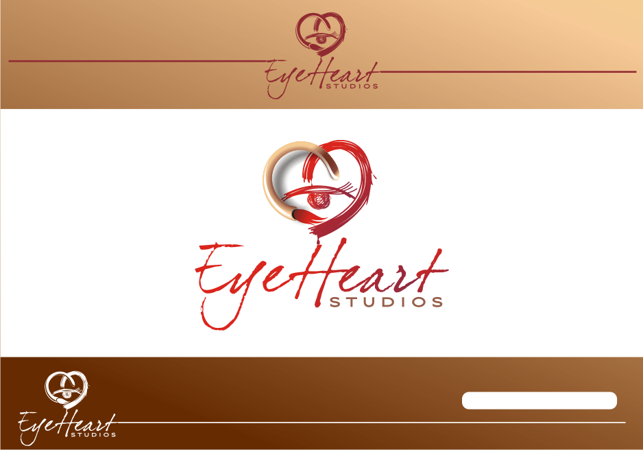Logo Design by graphicleaf - Entry No. 129 in the Logo Design Contest Unique Logo Design Wanted for Eye Heart Studios.
