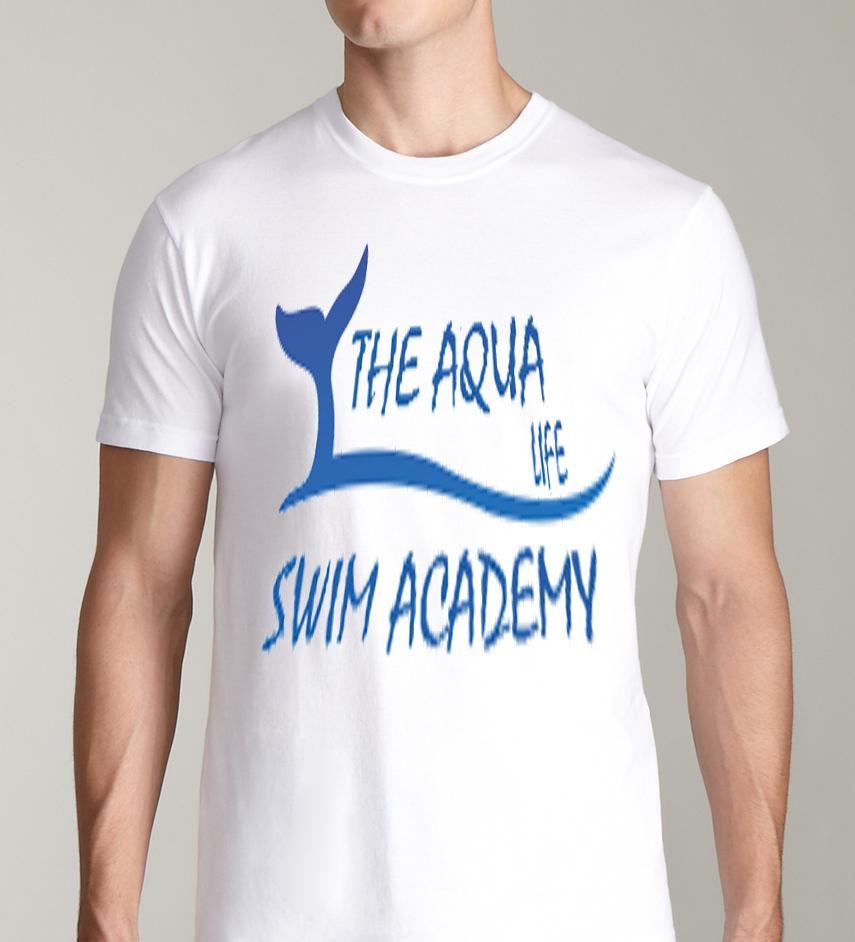 Logo Design by Vallabh Vinerkar - Entry No. 47 in the Logo Design Contest Artistic Logo Design Wanted for The Aqua Life Swim Academy.