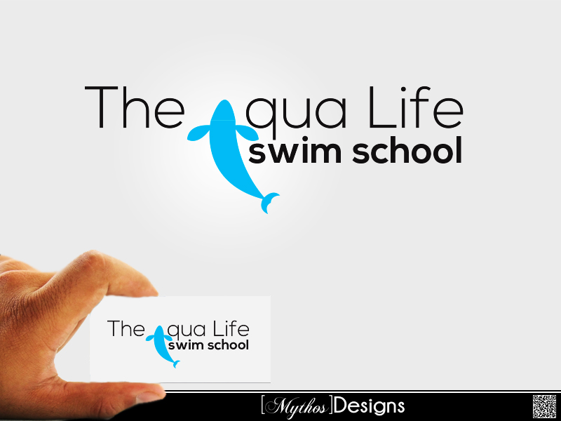 Logo Design by Mythos Designs - Entry No. 52 in the Logo Design Contest Artistic Logo Design Wanted for The Aqua Life Swim Academy.