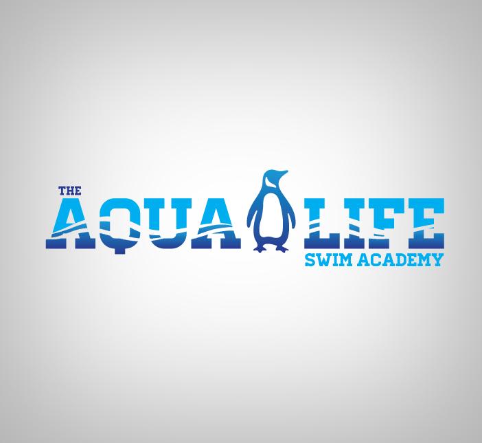 Logo Design by nausigeo - Entry No. 53 in the Logo Design Contest Artistic Logo Design Wanted for The Aqua Life Swim Academy.