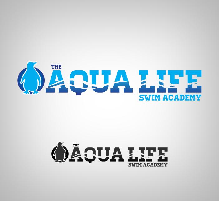 Logo Design by nausigeo - Entry No. 55 in the Logo Design Contest Artistic Logo Design Wanted for The Aqua Life Swim Academy.