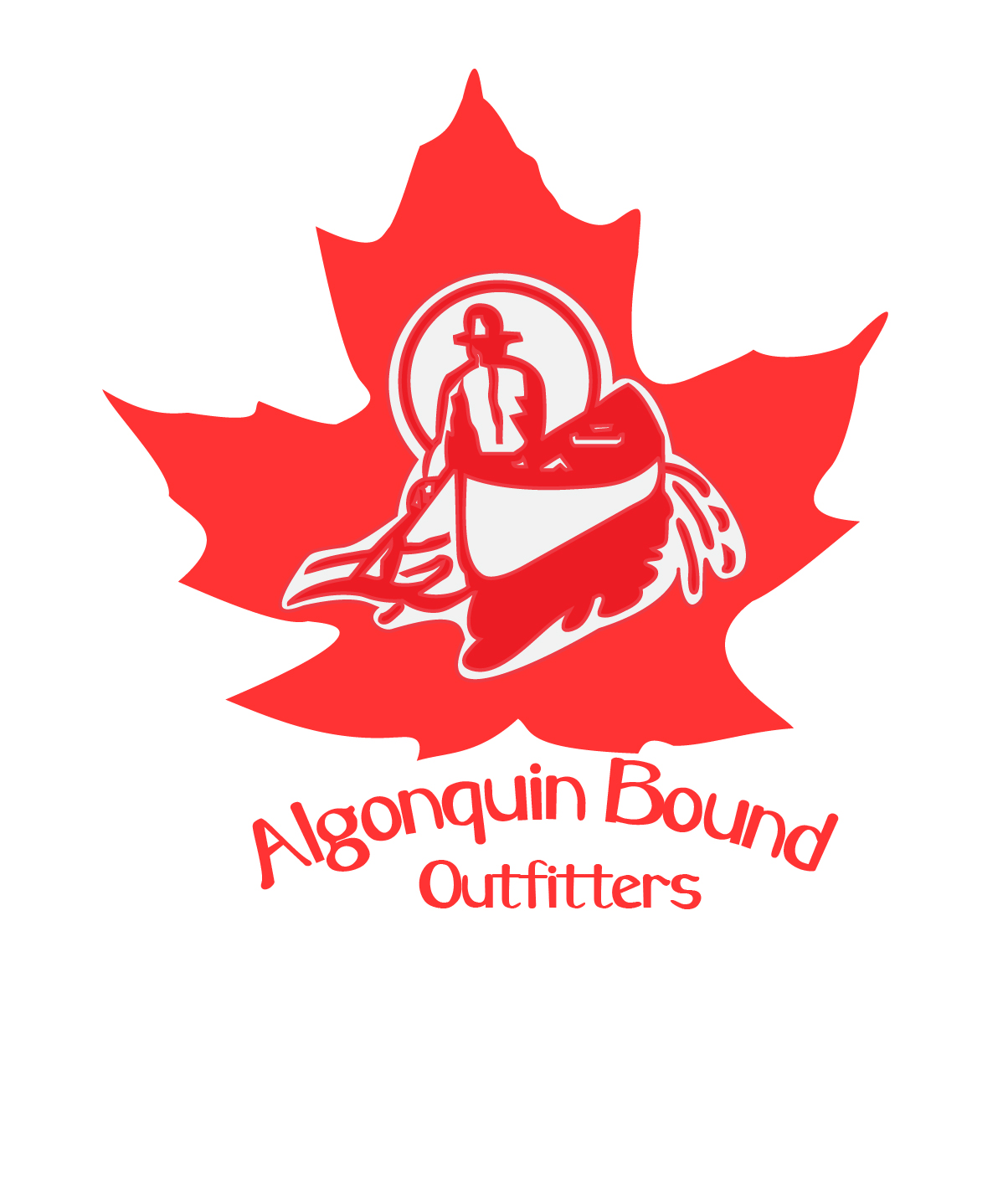 Logo Design by Nancy Grant - Entry No. 55 in the Logo Design Contest Captivating Logo Design for Algonquin Bound Outfitters.