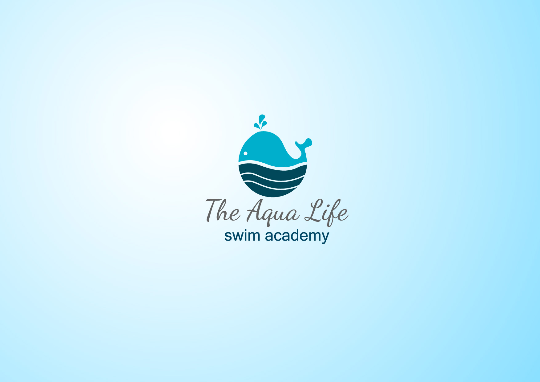 Logo Design by Osi Indra - Entry No. 59 in the Logo Design Contest Artistic Logo Design Wanted for The Aqua Life Swim Academy.