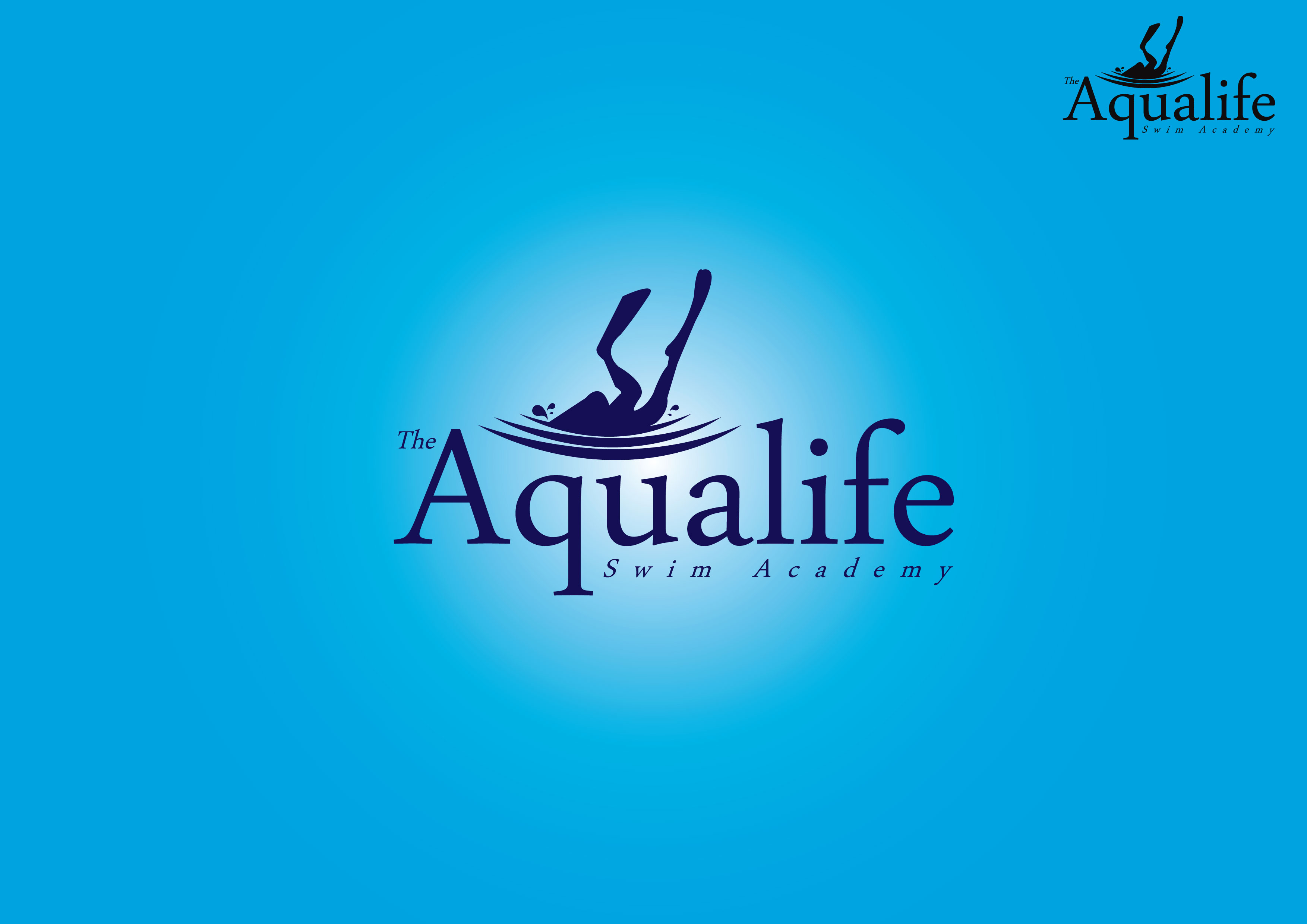 Logo Design by Dit Pambudi - Entry No. 60 in the Logo Design Contest Artistic Logo Design Wanted for The Aqua Life Swim Academy.