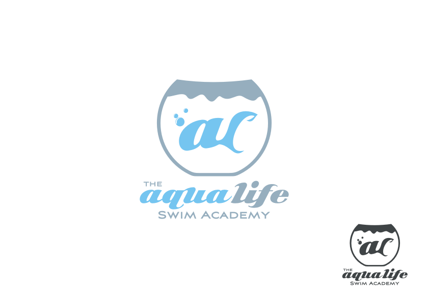 Logo Design by graphicleaf - Entry No. 65 in the Logo Design Contest Artistic Logo Design Wanted for The Aqua Life Swim Academy.