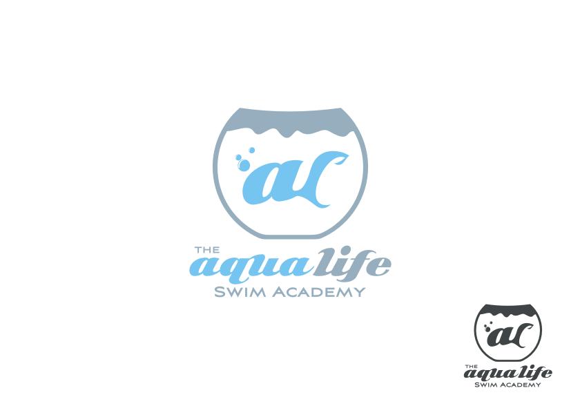 Logo Design by Muhammad Nasrul chasib - Entry No. 65 in the Logo Design Contest Artistic Logo Design Wanted for The Aqua Life Swim Academy.