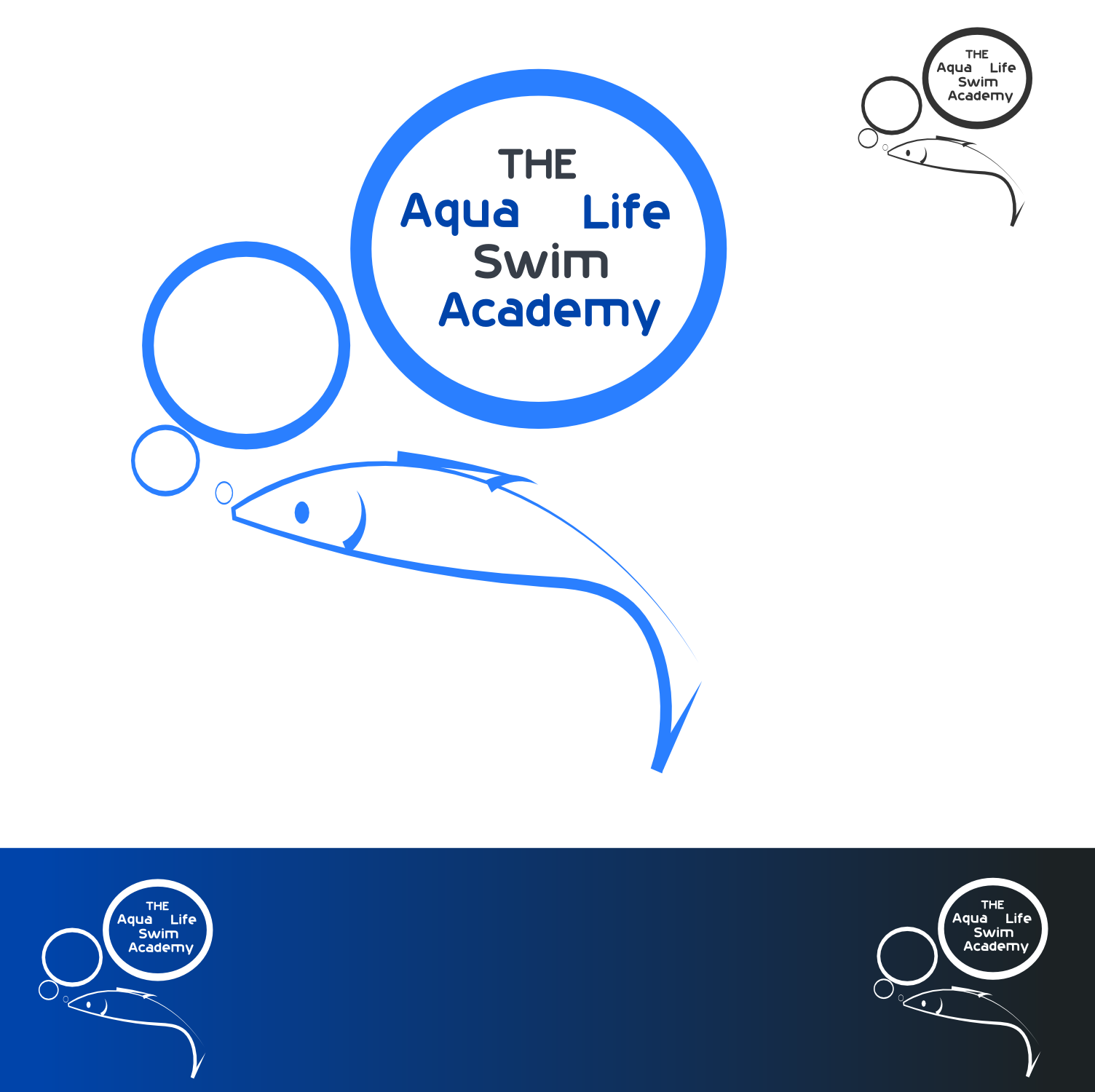 Logo Design by Arindam Khanda - Entry No. 71 in the Logo Design Contest Artistic Logo Design Wanted for The Aqua Life Swim Academy.