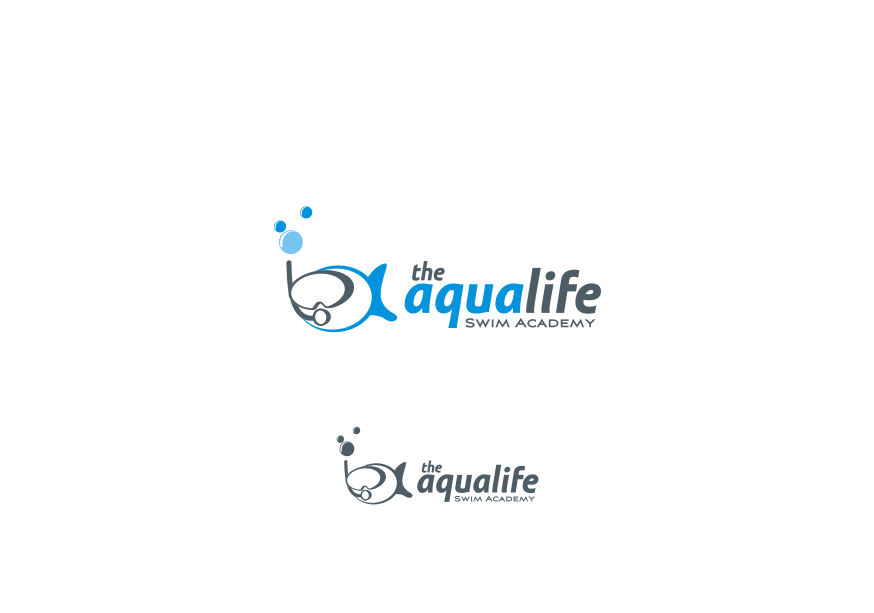 Logo Design by graphicleaf - Entry No. 72 in the Logo Design Contest Artistic Logo Design Wanted for The Aqua Life Swim Academy.