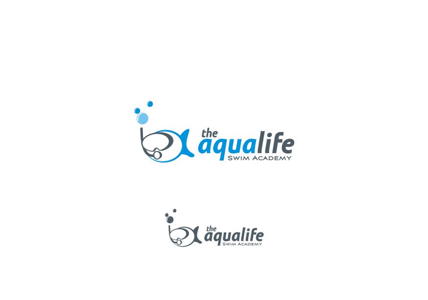 Logo Design by Muhammad Nasrul chasib - Entry No. 72 in the Logo Design Contest Artistic Logo Design Wanted for The Aqua Life Swim Academy.