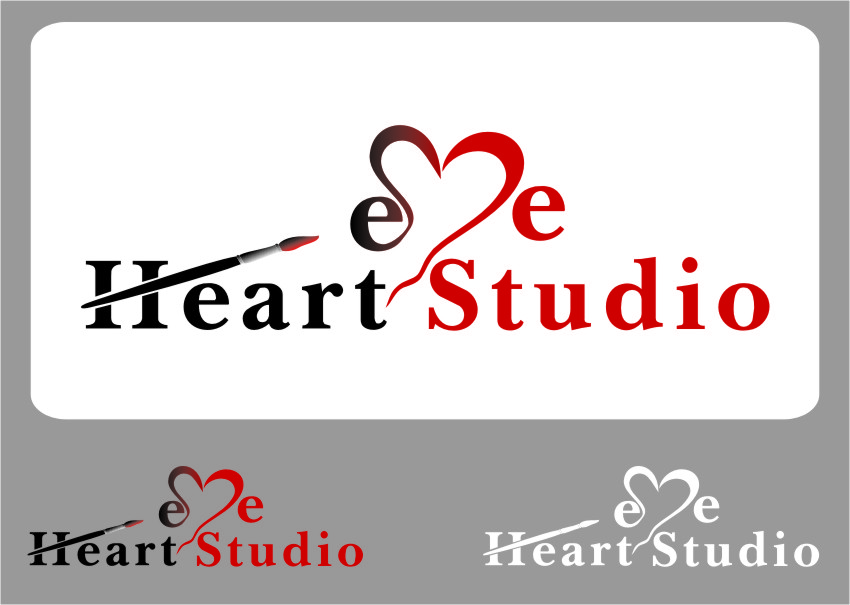 Logo Design by Ngepet_art - Entry No. 141 in the Logo Design Contest Unique Logo Design Wanted for Eye Heart Studios.