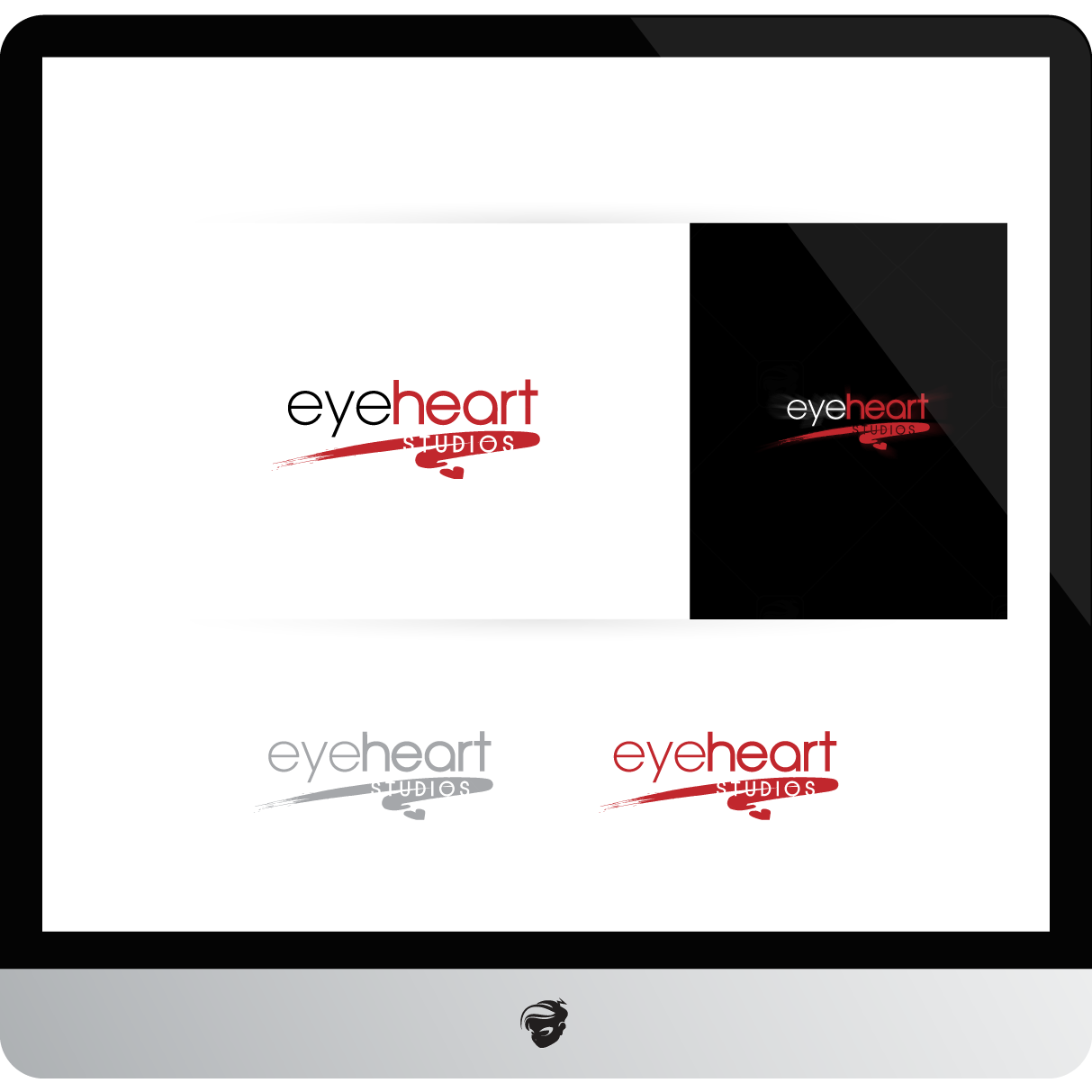 Logo Design by zesthar - Entry No. 142 in the Logo Design Contest Unique Logo Design Wanted for Eye Heart Studios.