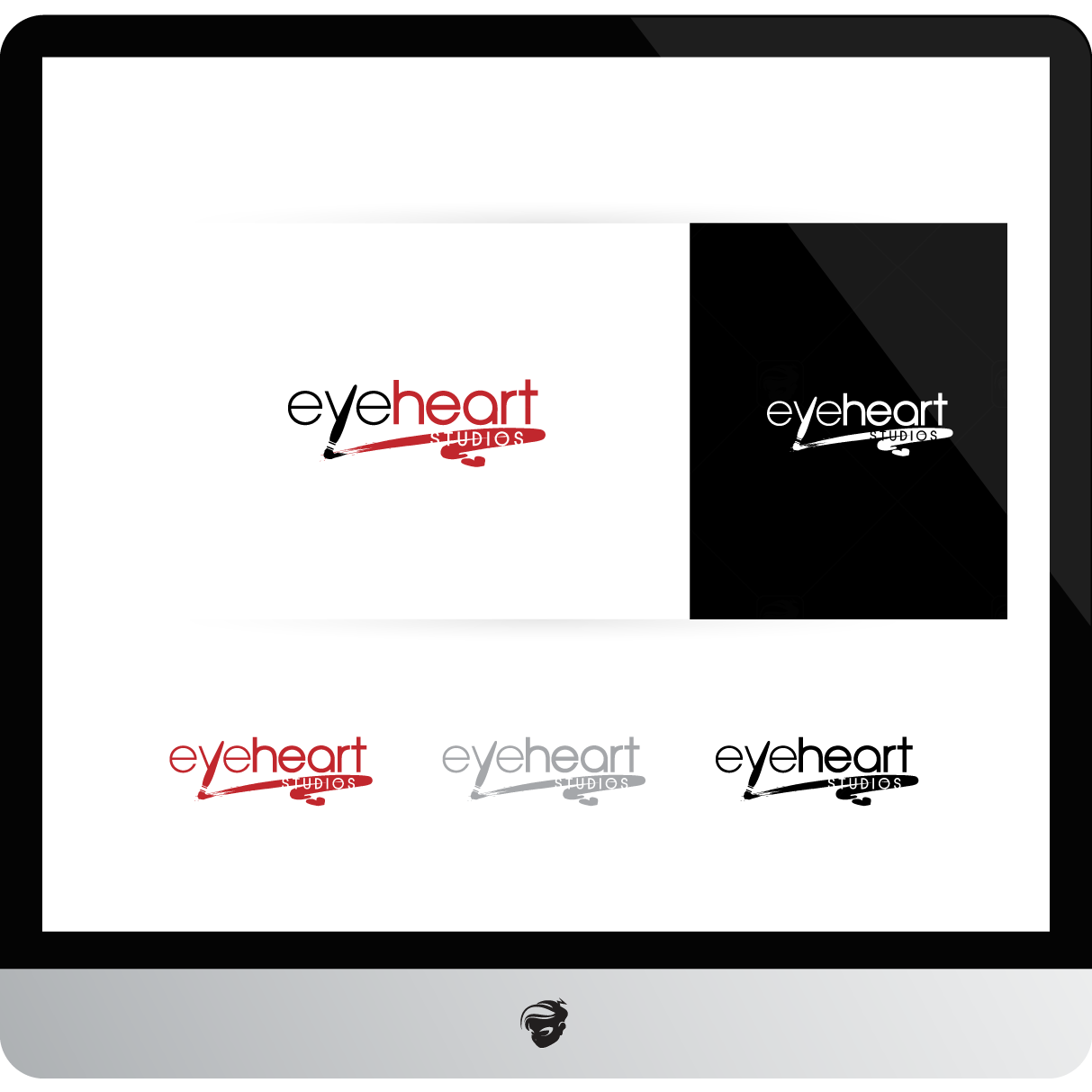 Logo Design by zesthar - Entry No. 143 in the Logo Design Contest Unique Logo Design Wanted for Eye Heart Studios.