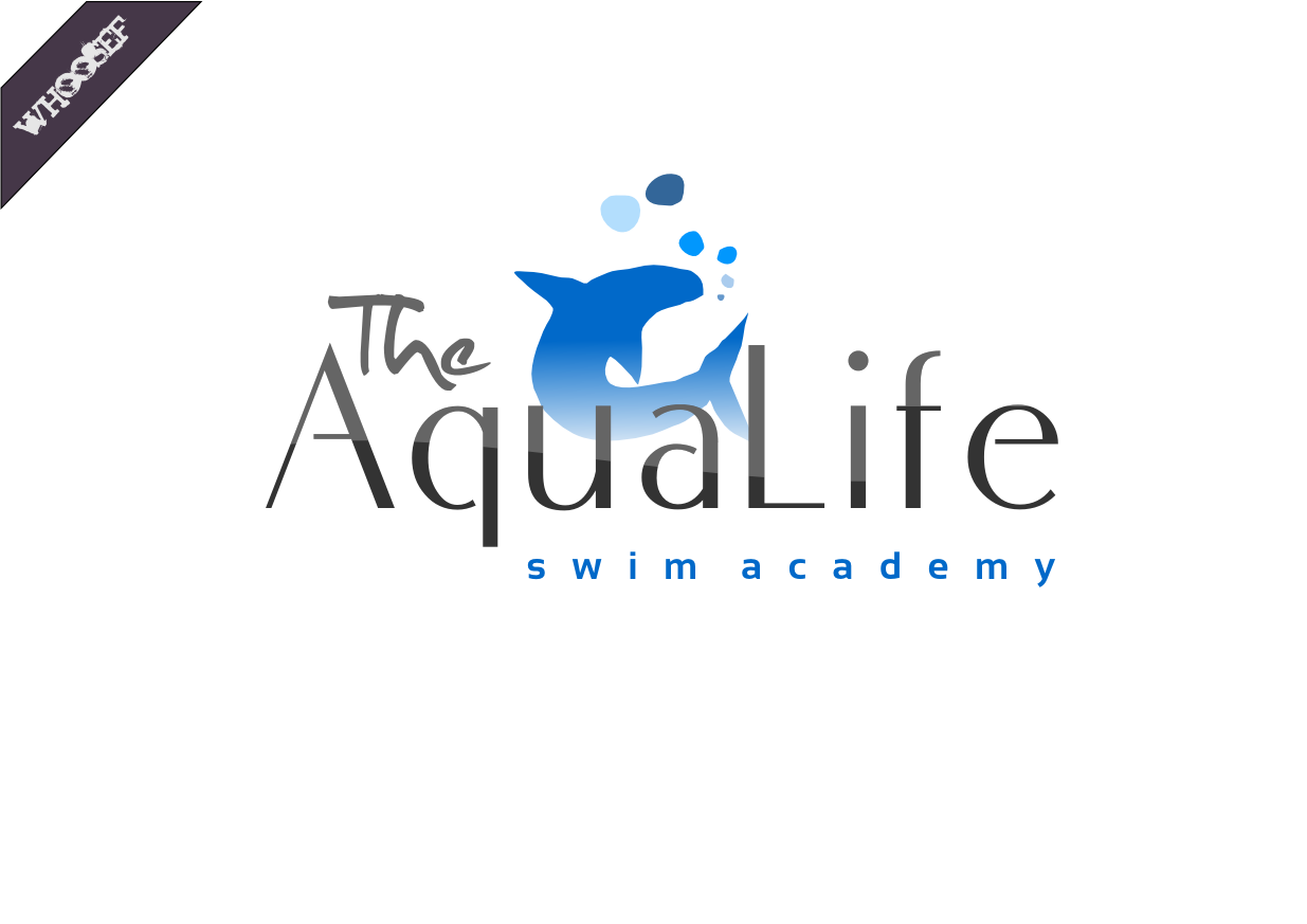 Logo Design by whoosef - Entry No. 76 in the Logo Design Contest Artistic Logo Design Wanted for The Aqua Life Swim Academy.