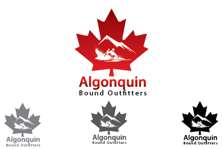 Logo Design by Private User - Entry No. 60 in the Logo Design Contest Captivating Logo Design for Algonquin Bound Outfitters.
