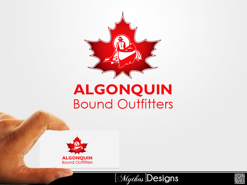 Logo Design by Mythos Designs - Entry No. 65 in the Logo Design Contest Captivating Logo Design for Algonquin Bound Outfitters.