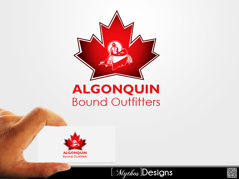 Logo Design by Mythos Designs - Entry No. 66 in the Logo Design Contest Captivating Logo Design for Algonquin Bound Outfitters.