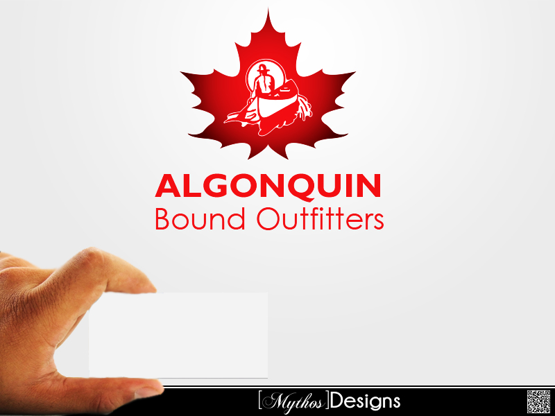 Logo Design by Mythos Designs - Entry No. 67 in the Logo Design Contest Captivating Logo Design for Algonquin Bound Outfitters.
