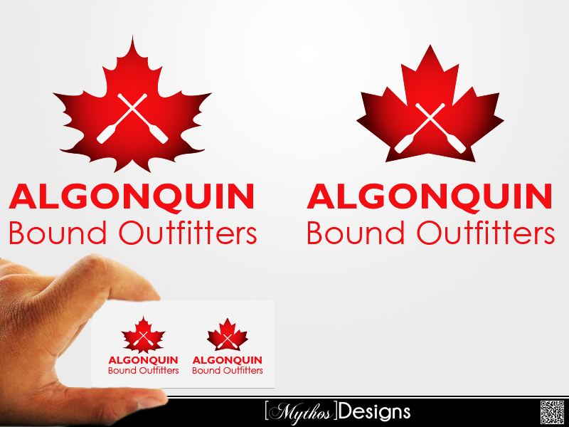 Logo Design by Mythos Designs - Entry No. 69 in the Logo Design Contest Captivating Logo Design for Algonquin Bound Outfitters.