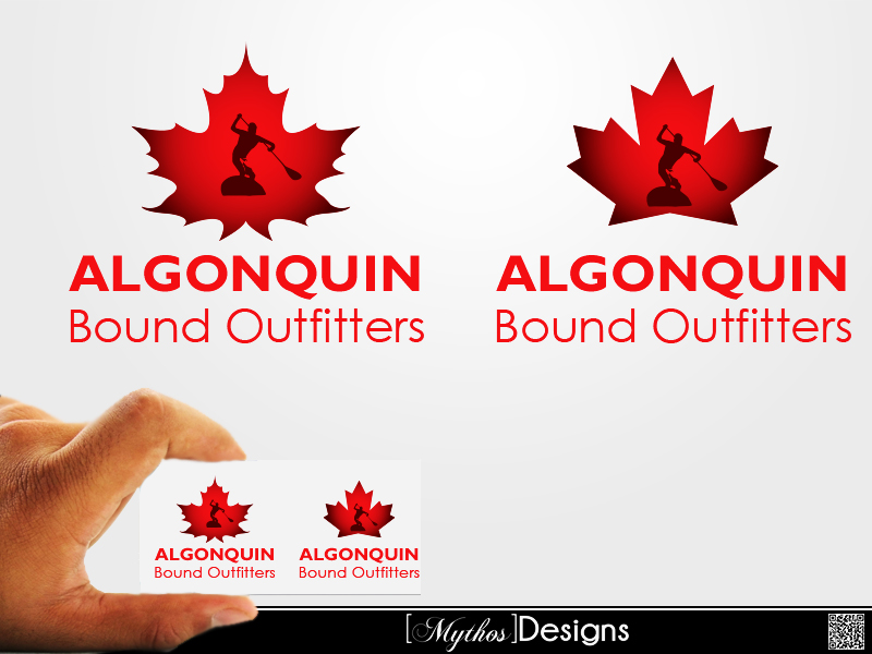 Logo Design by Mythos Designs - Entry No. 70 in the Logo Design Contest Captivating Logo Design for Algonquin Bound Outfitters.