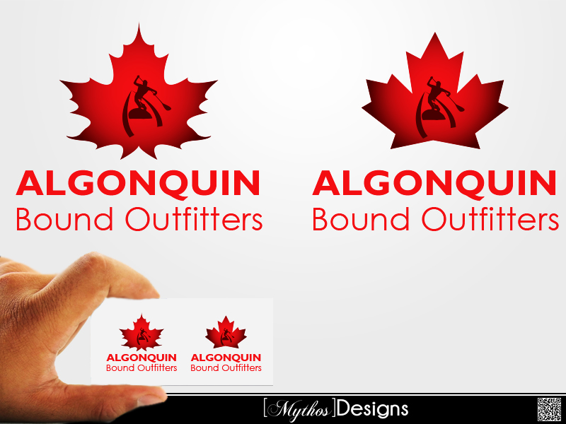 Logo Design by Mythos Designs - Entry No. 71 in the Logo Design Contest Captivating Logo Design for Algonquin Bound Outfitters.