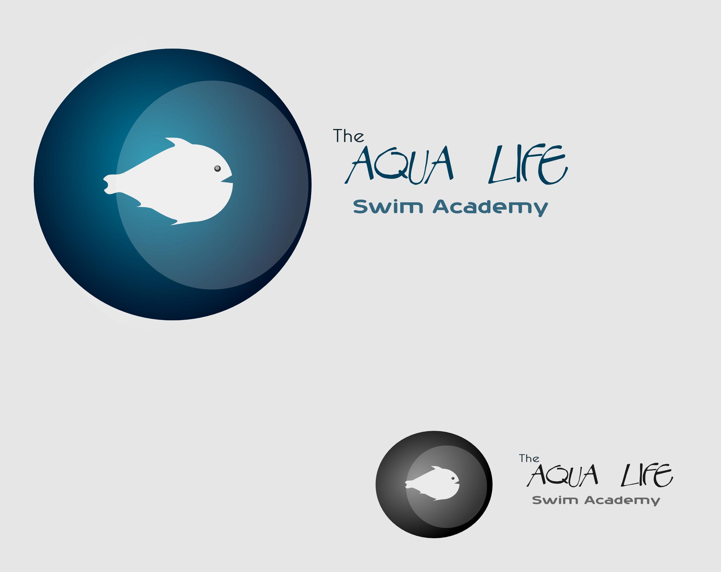 Logo Design by Arindam Khanda - Entry No. 88 in the Logo Design Contest Artistic Logo Design Wanted for The Aqua Life Swim Academy.