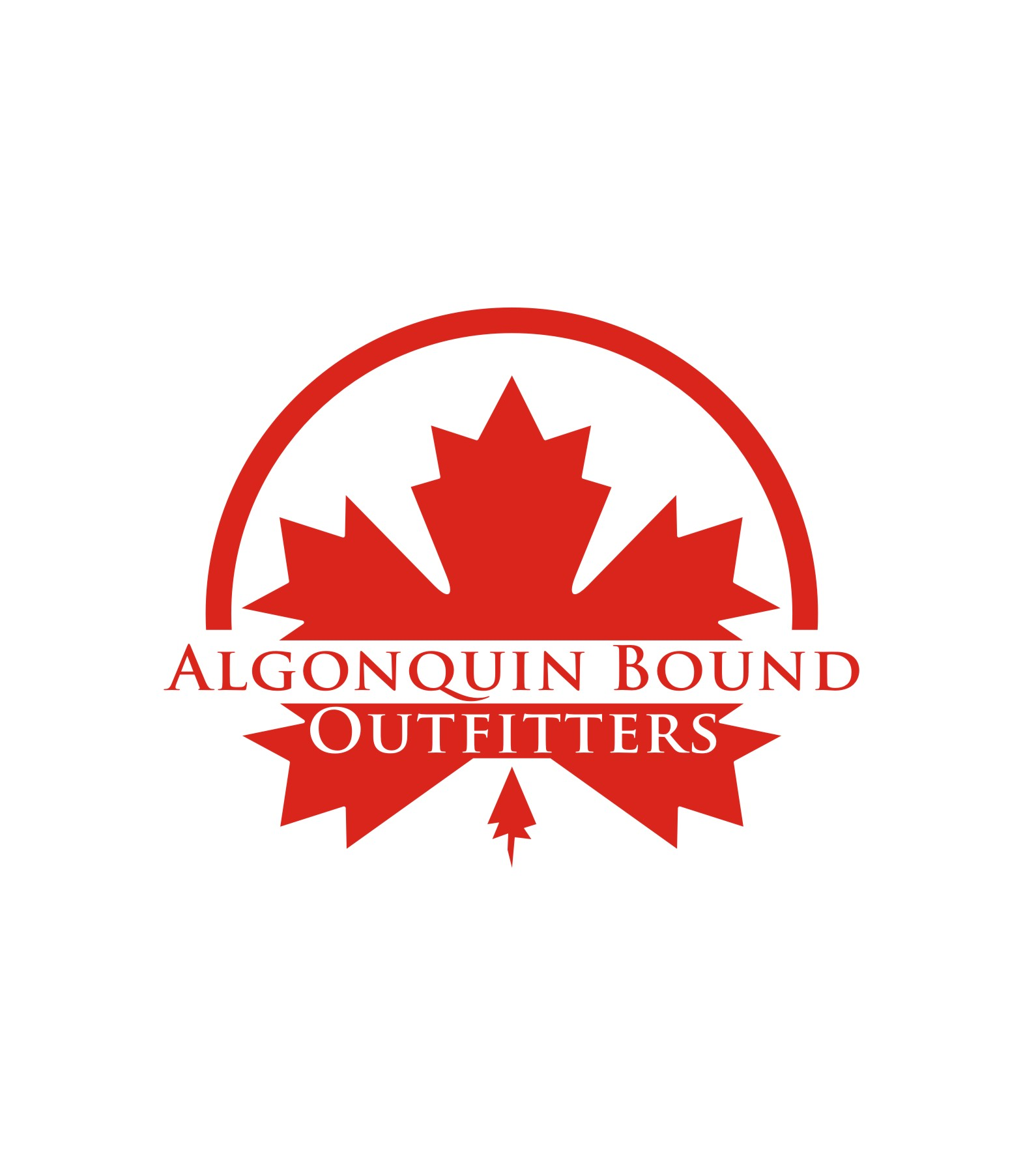 Logo Design by Private User - Entry No. 74 in the Logo Design Contest Captivating Logo Design for Algonquin Bound Outfitters.
