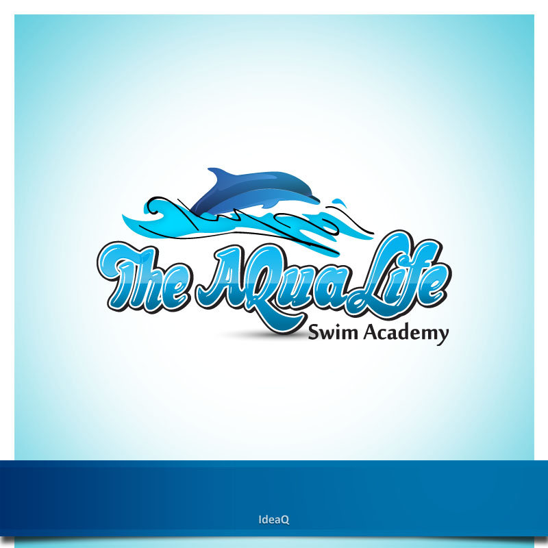 Logo Design by Private User - Entry No. 89 in the Logo Design Contest Artistic Logo Design Wanted for The Aqua Life Swim Academy.
