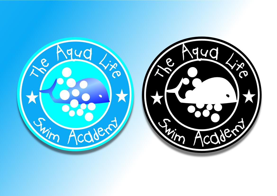 Logo Design by Heri Susanto - Entry No. 93 in the Logo Design Contest Artistic Logo Design Wanted for The Aqua Life Swim Academy.