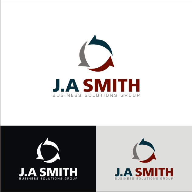 Logo Design by key - Entry No. 41 in the Logo Design Contest J. A. Smith Business Solutions Group.
