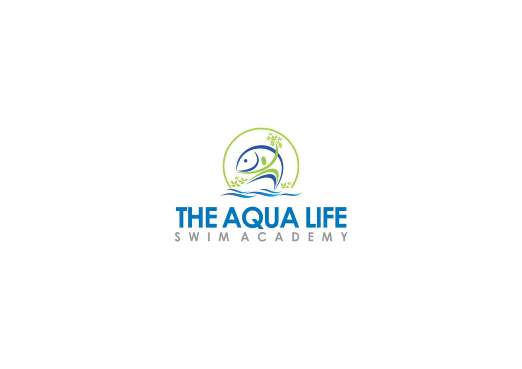 Logo Design by Private User - Entry No. 97 in the Logo Design Contest Artistic Logo Design Wanted for The Aqua Life Swim Academy.