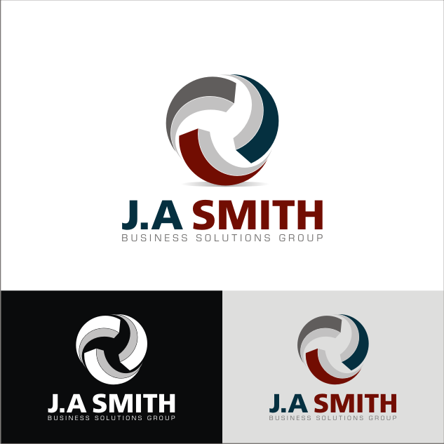 Logo Design by key - Entry No. 42 in the Logo Design Contest J. A. Smith Business Solutions Group.