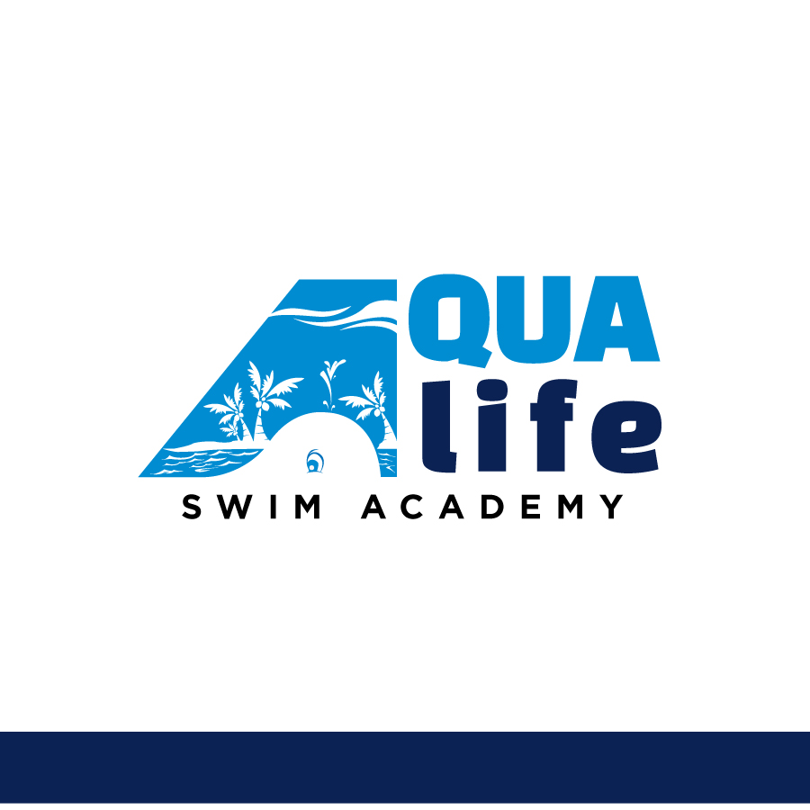 Logo Design by Edward Goodwin - Entry No. 101 in the Logo Design Contest Artistic Logo Design Wanted for The Aqua Life Swim Academy.