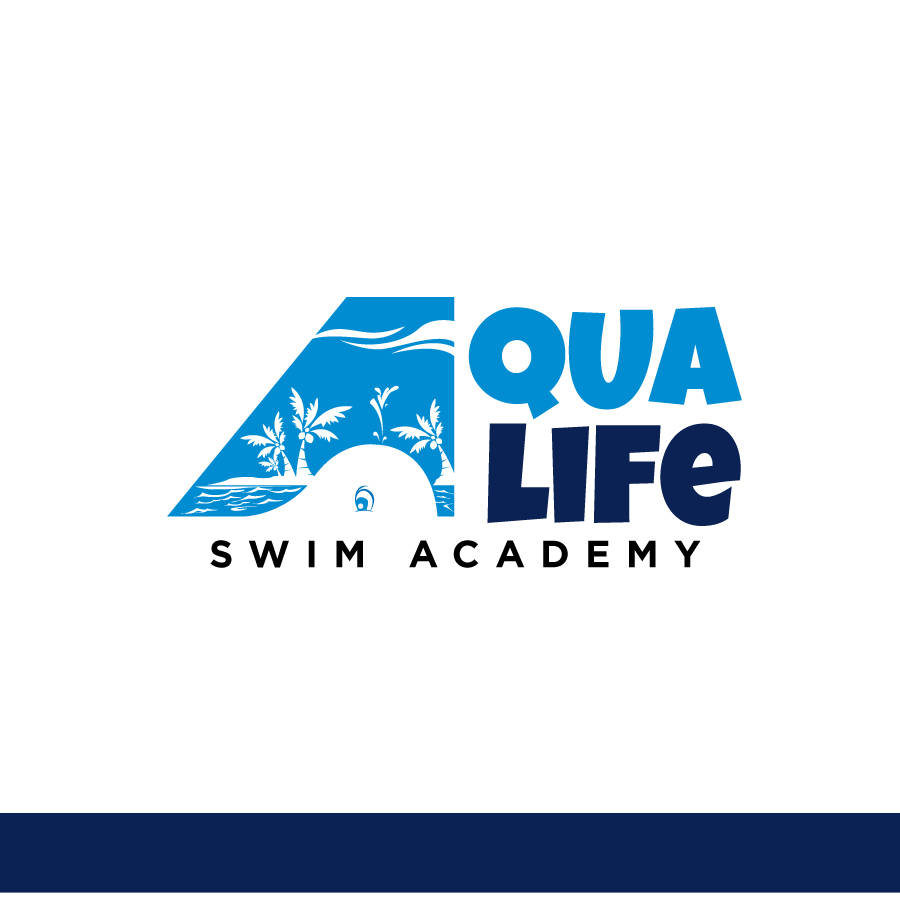 Logo Design by Edward Goodwin - Entry No. 102 in the Logo Design Contest Artistic Logo Design Wanted for The Aqua Life Swim Academy.