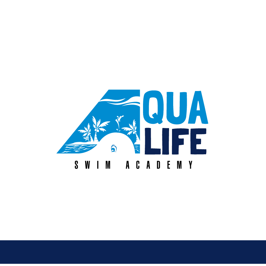 Logo Design by Edward Goodwin - Entry No. 103 in the Logo Design Contest Artistic Logo Design Wanted for The Aqua Life Swim Academy.