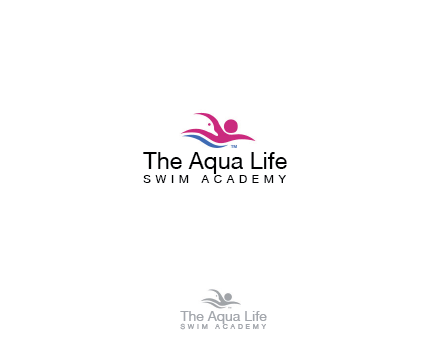 Logo Design by Private User - Entry No. 104 in the Logo Design Contest Artistic Logo Design Wanted for The Aqua Life Swim Academy.