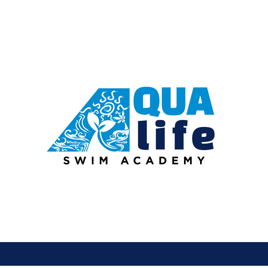 Logo Design by Edward Goodwin - Entry No. 106 in the Logo Design Contest Artistic Logo Design Wanted for The Aqua Life Swim Academy.