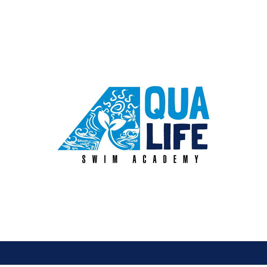 Logo Design by Edward Goodwin - Entry No. 107 in the Logo Design Contest Artistic Logo Design Wanted for The Aqua Life Swim Academy.